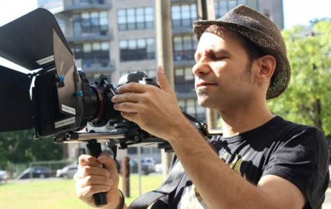 Filmmaker views world with positive lens