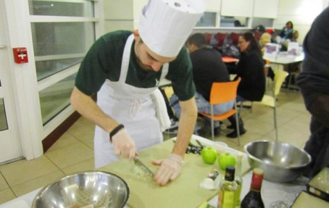 Gourmet Dining hosts Iron Chef Competition