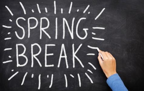 Spring Break: Students taking a break with family