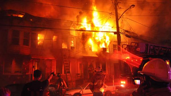 The Claremont Avenue fire on April 8 displaced 75. Google images