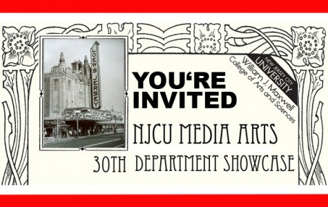 You're Invited to NJCU Media Arts 30th Department Showcase