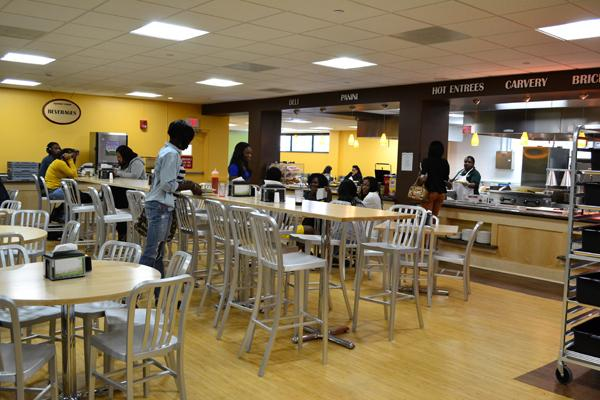 Gourmet Dining:  The New Vodra Cafeteria
