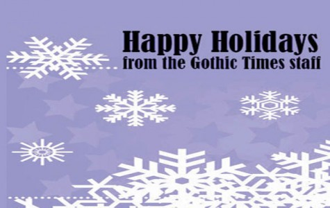 Happy Holidays from The Gothic Times staff