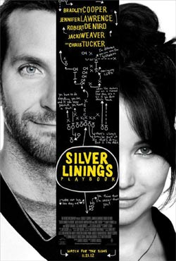 MOVIE REVIEW:  'Silver Linings Playbook'