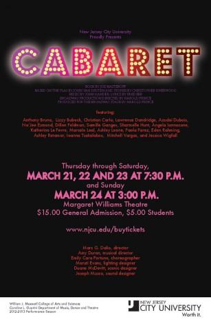 The World is Ending! Cabaret!