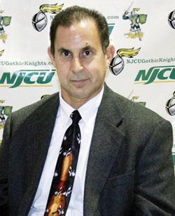 Women's Bowling Coach Frank Parisi. Photo Courtesy of the NJCU  Department of Sports Information