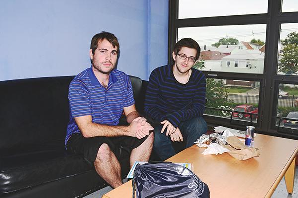 The men behind Magnetic Management (L to R), James Impellizeri and Michael Arbitblit.  (Photo by Dakota Santiago)