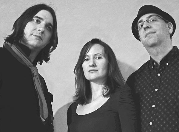 Ravens Ballroom (L to R), vocalist/guitarist Matthew Ravens, bassist/vocalist Simi Ravens and drummer Jon Rosenbaum. *Photo courtesy of Matthew Ravens