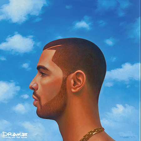 Front cover of Drake's new album,