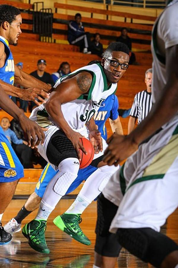 Albright finished his final season at NJCU averaging 14.5 points per game, earning seven NJAC Athlete of The Week honors, and was selected second team all-conference. Courtesy of www.njcugothicknights.com.