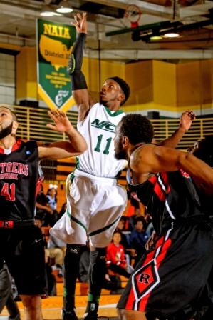 Despite Slow Start, Men's Basketball Fights Back To NJAC Semifinals