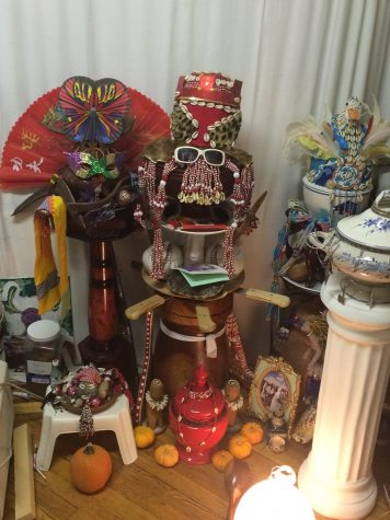 Voodoo Shrine in an Area Home