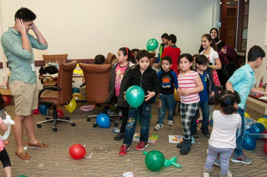 NJCU Students Support Refugees