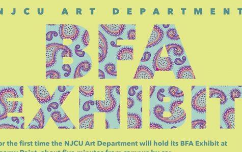 On Display Now: NJCU's BFA Exhibition