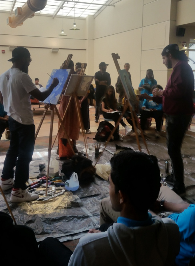 Clash on the Canvas at NJCU