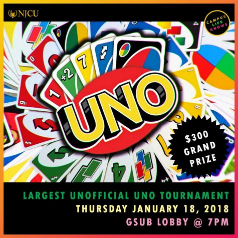 Help NJCU break a record by playing UNO