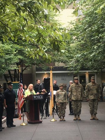 (PHOTOS) 9/11 memorial service on campus