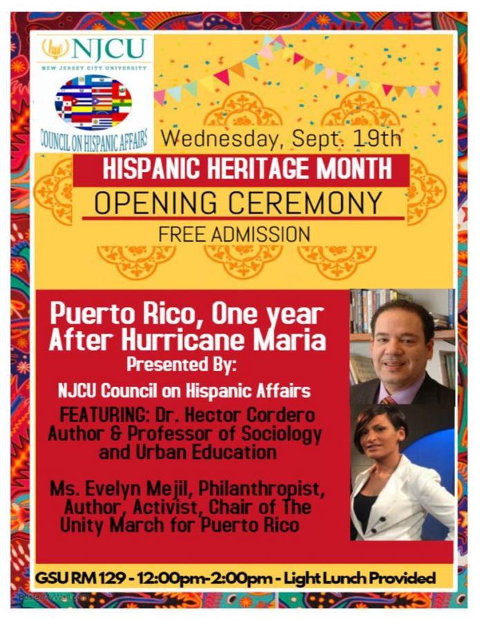 Hispanic Heritage Month: Opening Celebration