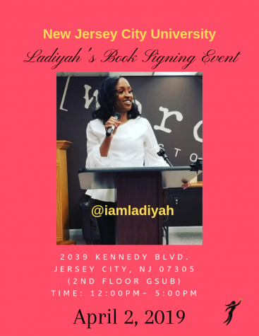 "Ladiyah Beachum: ""Done Being Silent"" – book signing Apr. 2"