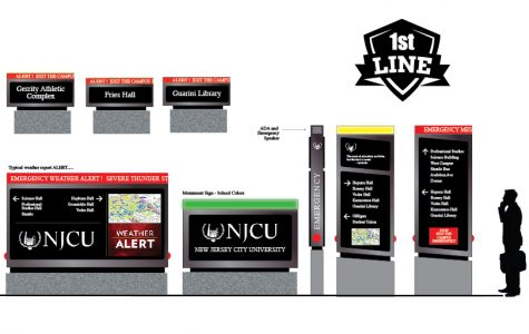 Patrick Deffenbaugh, award-winning designer and adjunct at NJCU, announces university signage system