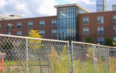Photo of the West Campus Village dorm. Photo by Brianna Evans.