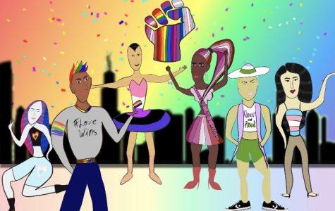 The LGBTQ+ Community. Photo created by Haresh Oudhnarine