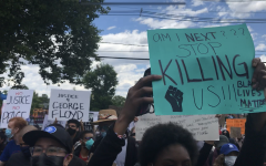 Jersey City protests over the injustice of black lives