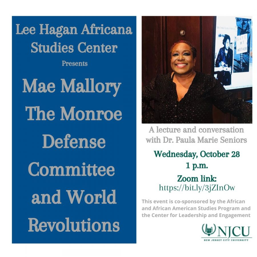 Mae Mallory The Monroe Defense Committee and World Revolutions (10/28)