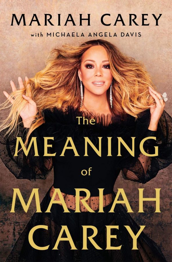 A look at the book cover of The Meaning of Mariah Carey