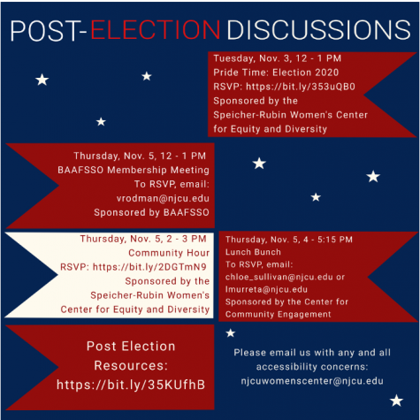Flyer information for Post-Election Discussions