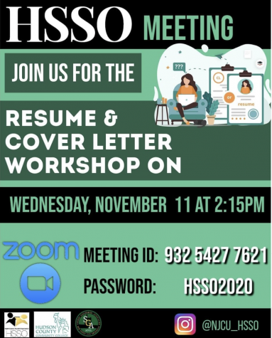 Resume and Cover Letter Workshop (11/11)