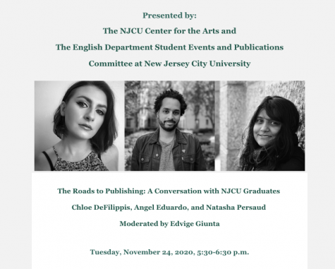 The Roads to Publishing: A Conversation with NJCU Graduates (11/24)