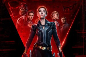 Poster for Marvel's Black Widow movie starring Scarlett Johansson. Photo courtesy of Marvel Entertainment [Fair Use].