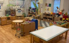 A full view of the Children's Learning Center at NJCU.