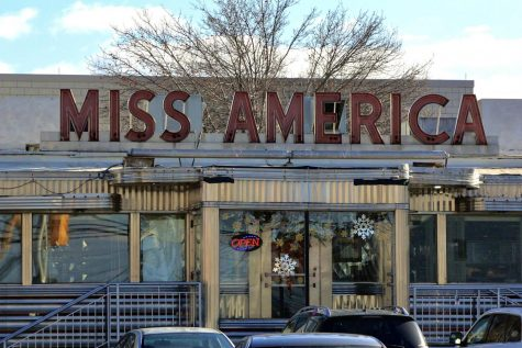 The Miss America Diner located behind the John J. Moore Athletics and Fitness Center.
