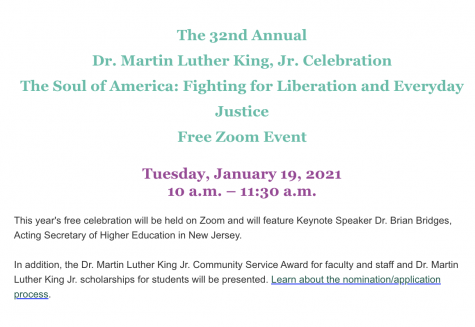The 32nd Annual Dr. Martin Luther King, Jr. Celebration (1/19)