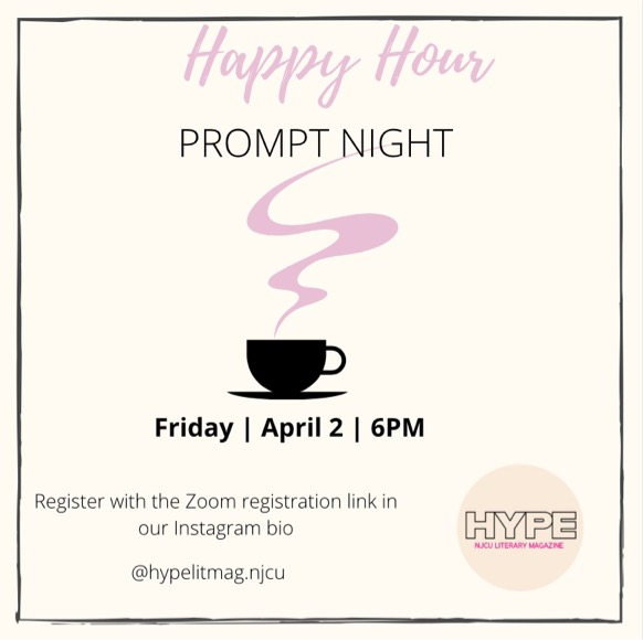 Happy Hour Prompt Night with HYPE Magazine (4/2)