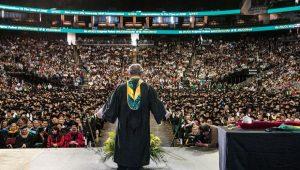 NJCU graduation ceremony. Photo courtesy of njcu.edu.