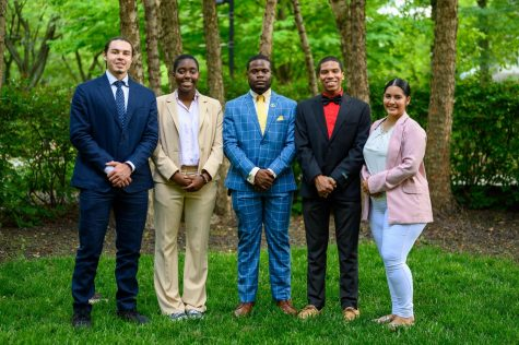 The Student Government Association Executive Board members. Photo Courtesy of SGA.